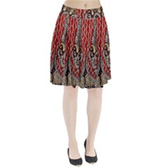 Indian Traditional Art Pattern Pleated Skirt