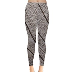 Sea Fan Coral Intricate Patterns Leggings
