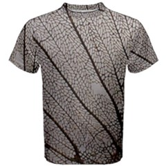 Sea Fan Coral Intricate Patterns Men s Cotton Tee
