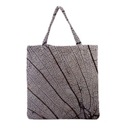 Sea Fan Coral Intricate Patterns Grocery Tote Bag