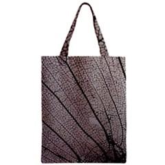 Sea Fan Coral Intricate Patterns Zipper Classic Tote Bag