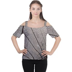 Sea Fan Coral Intricate Patterns Women s Cutout Shoulder Tee