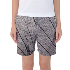 Sea Fan Coral Intricate Patterns Women s Basketball Shorts