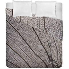 Sea Fan Coral Intricate Patterns Duvet Cover Double Side (california King Size)
