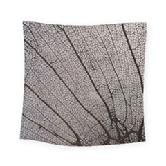 Sea Fan Coral Intricate Patterns Square Tapestry (small)
