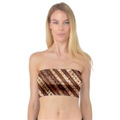 Udan Liris Batik Pattern Bandeau Top