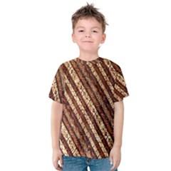Udan Liris Batik Pattern Kids  Cotton Tee