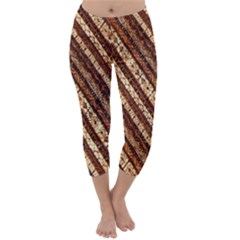 Udan Liris Batik Pattern Capri Winter Leggings