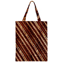 Udan Liris Batik Pattern Zipper Classic Tote Bag
