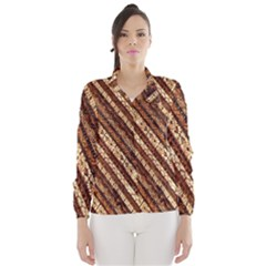 Udan Liris Batik Pattern Wind Breaker (women)