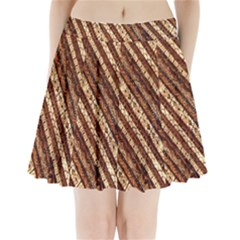 Udan Liris Batik Pattern Pleated Mini Skirt