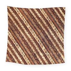 Udan Liris Batik Pattern Square Tapestry (large)