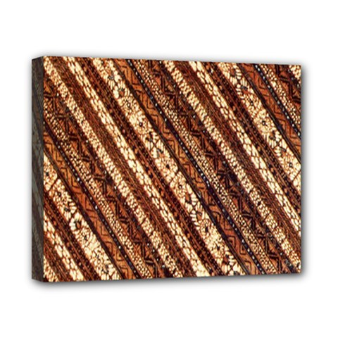 Udan Liris Batik Pattern Canvas 10  X 8