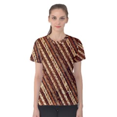 Udan Liris Batik Pattern Women s Cotton Tee