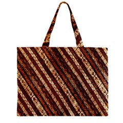 Udan Liris Batik Pattern Zipper Mini Tote Bag