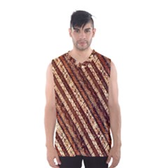 Udan Liris Batik Pattern Men s Basketball Tank Top