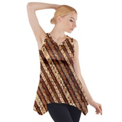 Udan Liris Batik Pattern Side Drop Tank Tunic