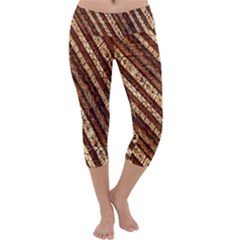 Udan Liris Batik Pattern Capri Yoga Leggings