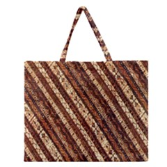 Udan Liris Batik Pattern Zipper Large Tote Bag