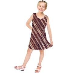 Udan Liris Batik Pattern Kids  Tunic Dress