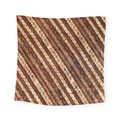 Udan Liris Batik Pattern Square Tapestry (small)