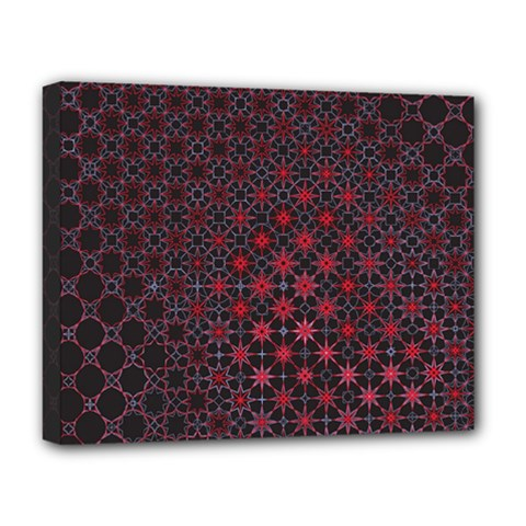 Star Patterns Deluxe Canvas 20  x 16
