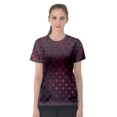 Star Patterns Women s Sport Mesh Tee