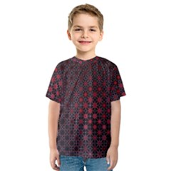 Star Patterns Kids  Sport Mesh Tee