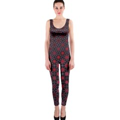 Star Patterns Onepiece Catsuit