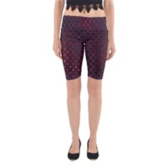 Star Patterns Yoga Cropped Leggings