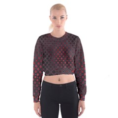 Star Patterns Women s Cropped Sweatshirt