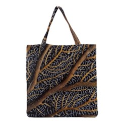 Trees Forests Pattern Grocery Tote Bag