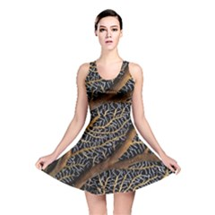 Trees Forests Pattern Reversible Skater Dress