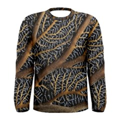 Trees Forests Pattern Men s Long Sleeve Tee