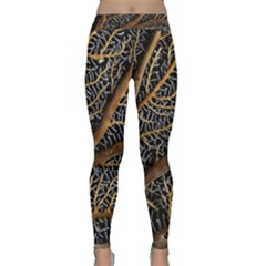 Trees Forests Pattern Classic Yoga Leggings