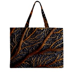 Trees Forests Pattern Zipper Mini Tote Bag