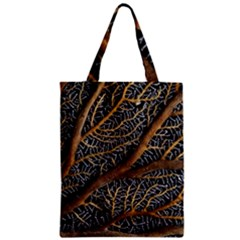 Trees Forests Pattern Zipper Classic Tote Bag