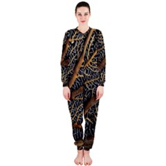 Trees Forests Pattern Onepiece Jumpsuit (ladies)