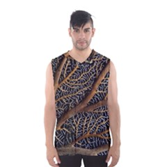 Trees Forests Pattern Men s Basketball Tank Top