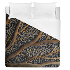 Trees Forests Pattern Duvet Cover (queen Size)