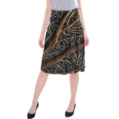 Trees Forests Pattern Midi Beach Skirt