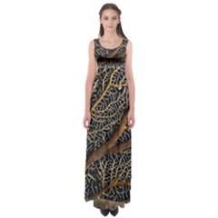 Trees Forests Pattern Empire Waist Maxi Dress
