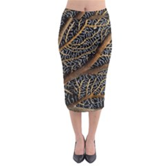 Trees Forests Pattern Midi Pencil Skirt