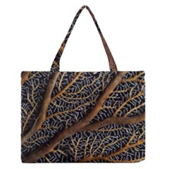 Trees Forests Pattern Medium Zipper Tote Bag