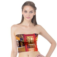 Telephone Box London Night Tube Top