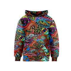 Vector Art Pattern Kids  Pullover Hoodie