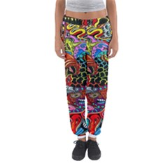 Vector Art Pattern Women s Jogger Sweatpants