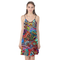 Vector Art Pattern Camis Nightgown