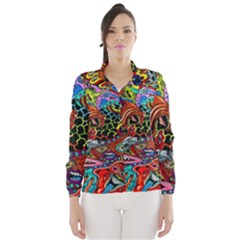 Vector Art Pattern Wind Breaker (women)