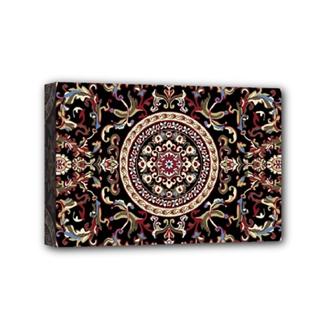 Vectorized Traditional Rug Style Of Traditional Patterns Mini Canvas 6  x 4